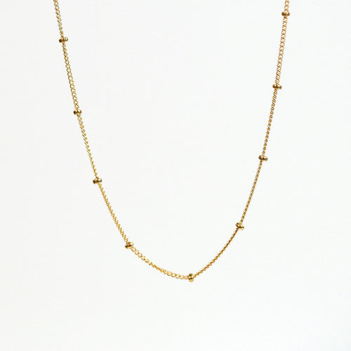14K Gold Filled Mini Dot Choker