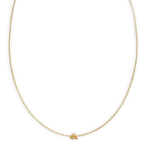 14K Gold Filled Bee Necklace