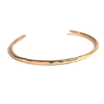 14K Gold Filled Horseshoe Cuff