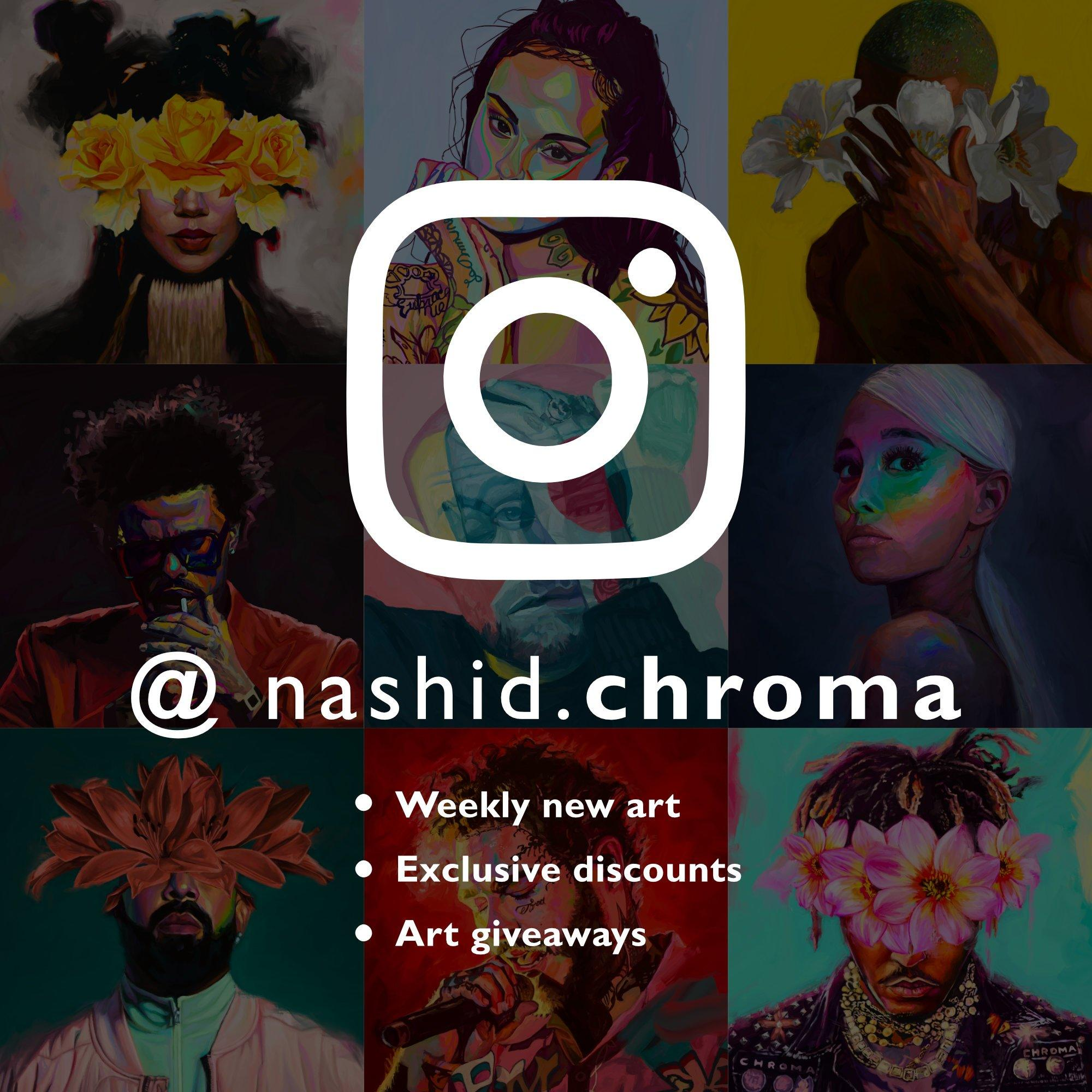 L $ D Art Nashid Chroma