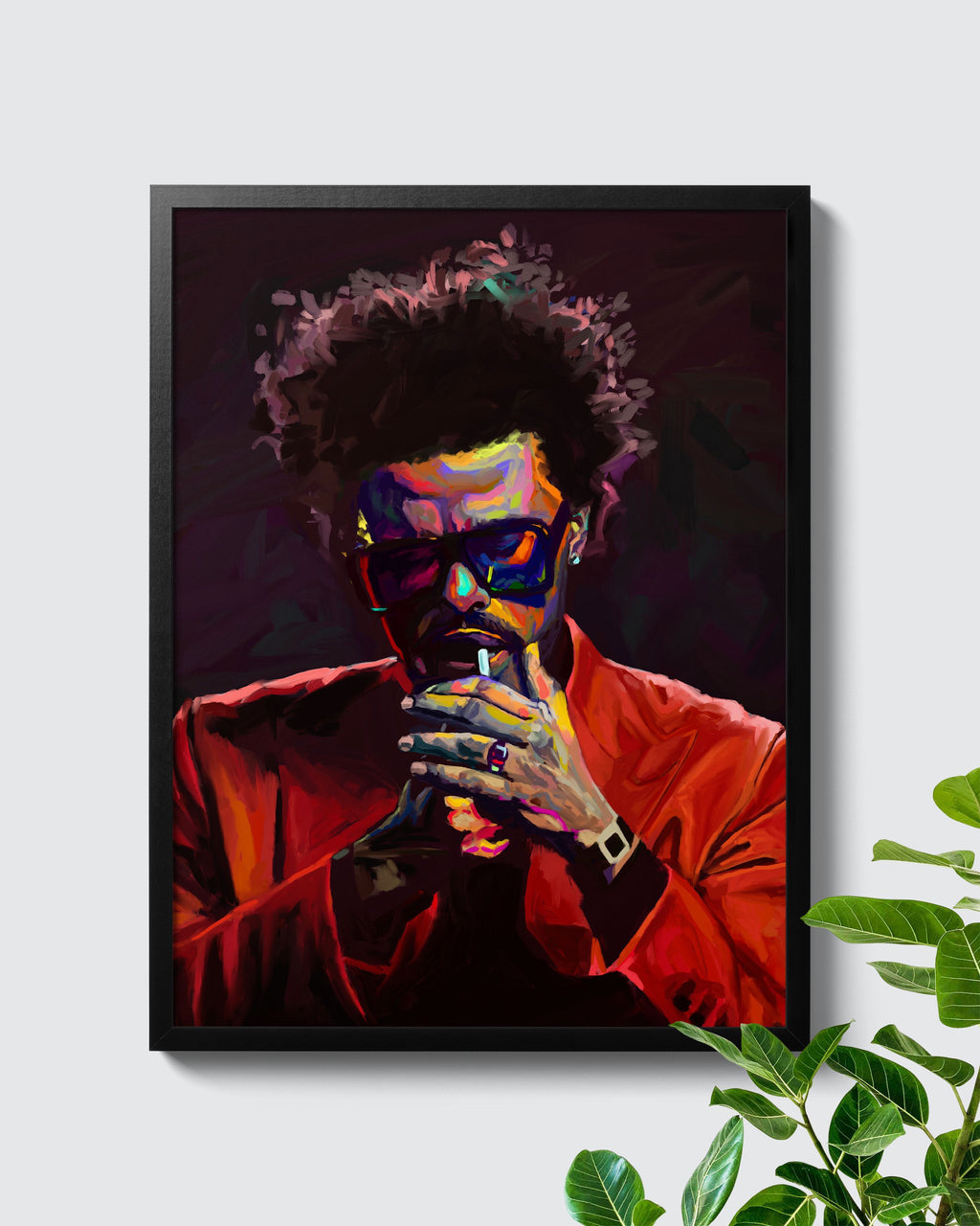 The Weeknd After Hours Poster - Nashid Chroma