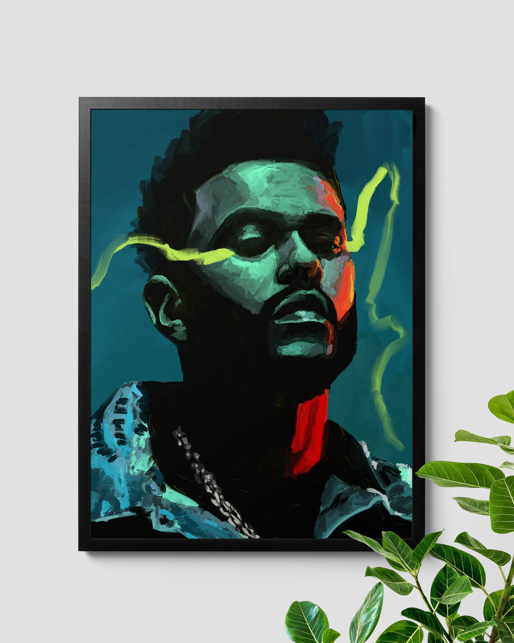 The Weeknd Starboy Poster - Nashid Chroma
