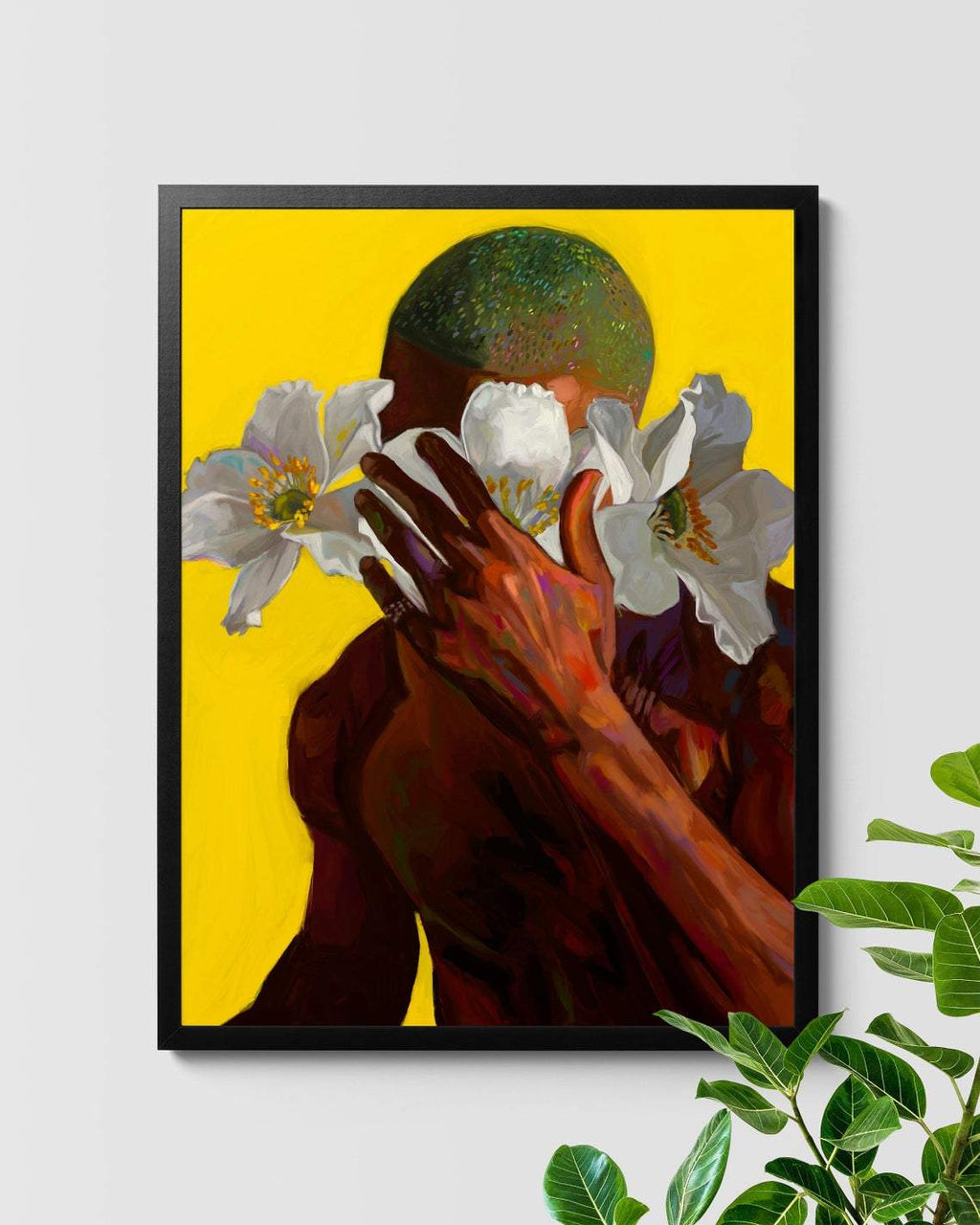 Frank Ocean Blonded Floral Painting Art Nashid Chroma