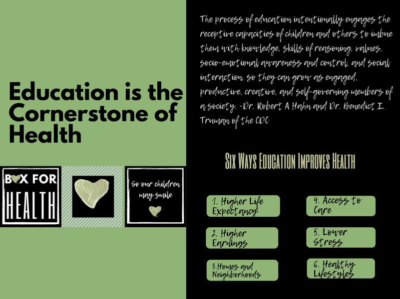 Education Creating Healthier Lives