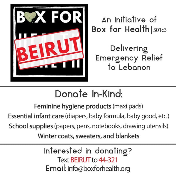 Box for Beirut