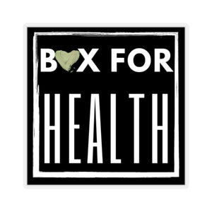Boxy Box for Health Stickers