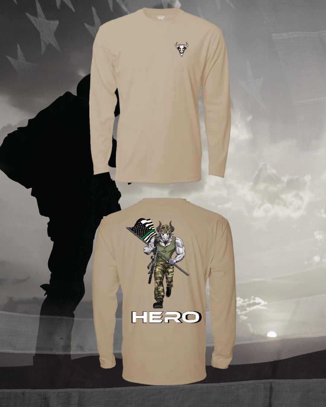 Hero Tee | Veteran & Active Military