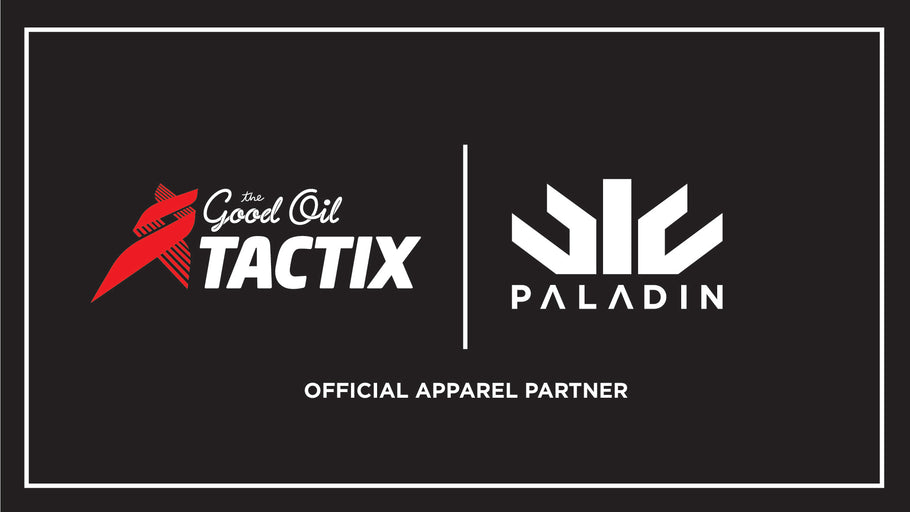 PALADIN SPORTS SIGN NEW PARTNERSHIP WITH THE GOOD OIL TACTIX