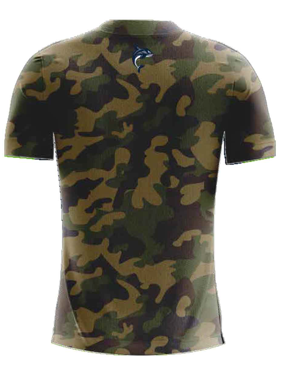 Paladin Authentic Camo Player Training Shirt
