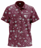 FORDHAM RUGBY MEN'S HAWAIIAN SHIRT