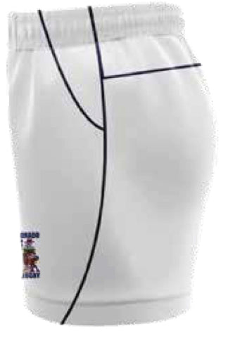 OL'Pokes Rugby Playing Shorts White Mens