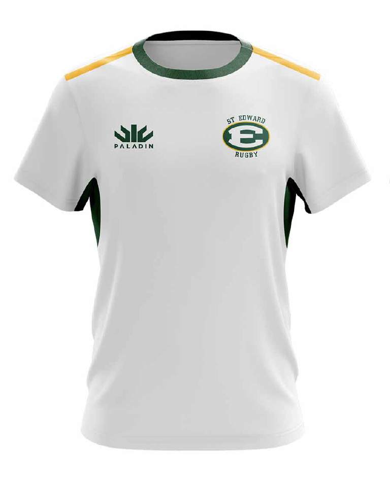 St Edward White Training Tee