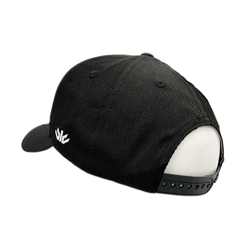 Just Roll With It Black Sideline Hat