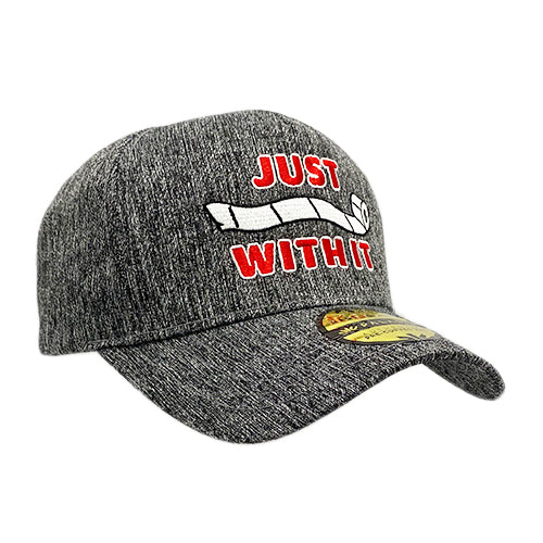Just Roll With It Grey Sideline Hat