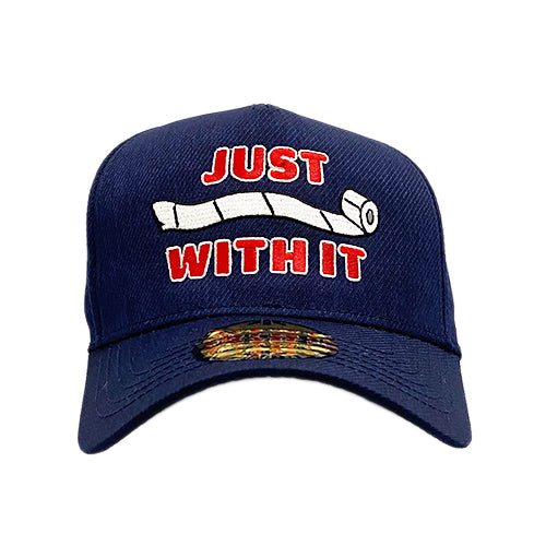 Just Roll With It Navy Sideline Hat