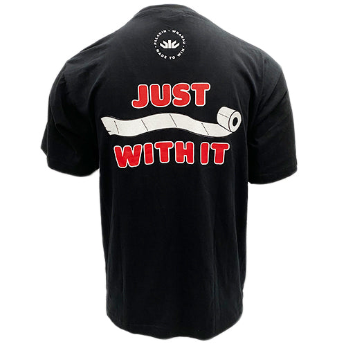 Just Roll With It Black Shirt