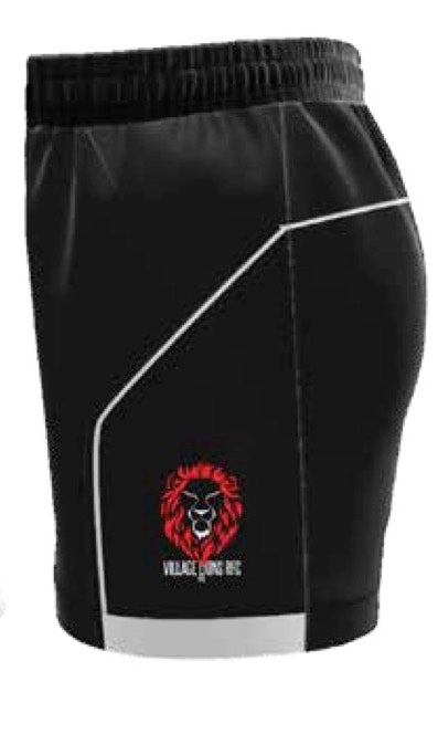 Village Lions Playing Shorts Mens