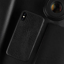 Load image into Gallery viewer, Croc Leather iPhone Cover - JustBlackCo
