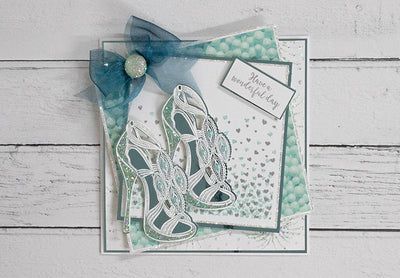 Fabulous Sandal Fashion Card Project
