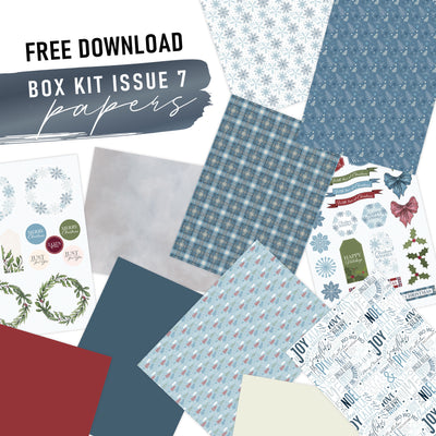 Issue 7 Box Kit Paper Free Download
