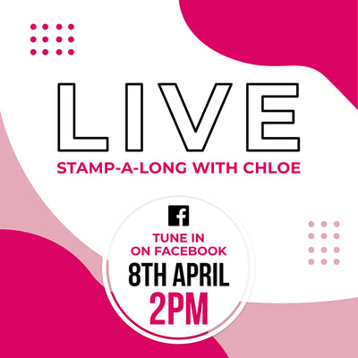 Stamp-a-long LIVE with Chloe!