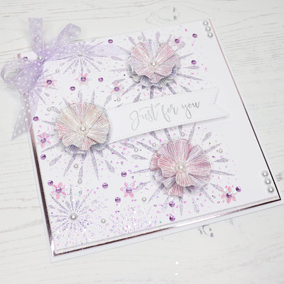 How to use our Flowerburst Elements and Rose Mallow Flower Stamp