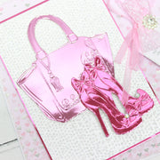 3D Embossing Folders by Chloe Handbag and Shoes