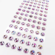 Craft Buddy Self Adhesive Beaded Pointed A/B Gems Lilac