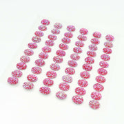 Craft Buddy Self Adhesive A/B Sparkle Bubble Gems Cerise