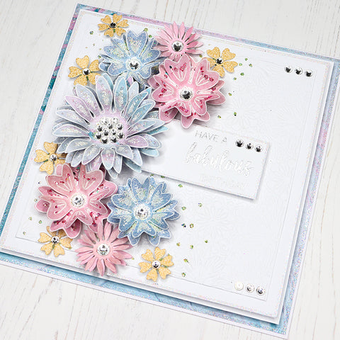 Chloes Creative Cards Delightful Daisy Stamp and Die Set