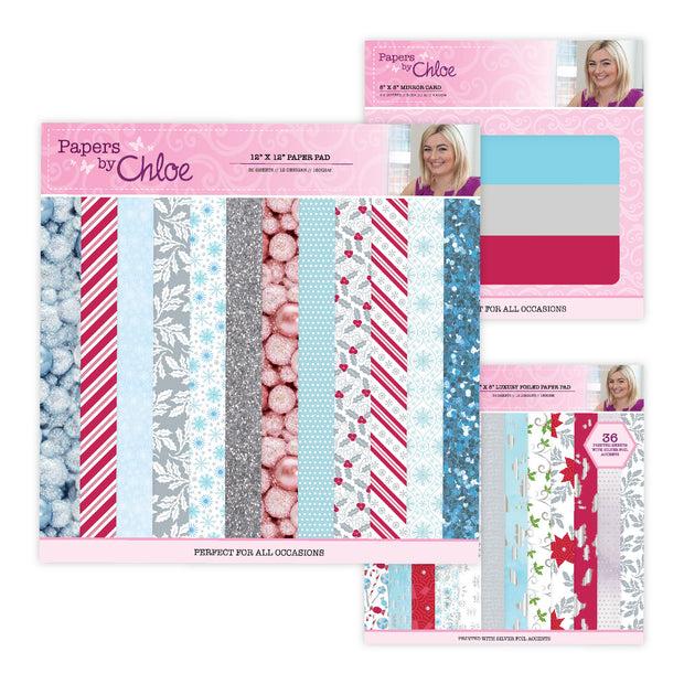 Papers by Chloe Christmas Sparkle Half Price Bundle