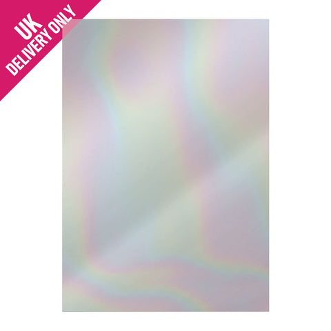 Craft UK Silver Holographic Mirror Board