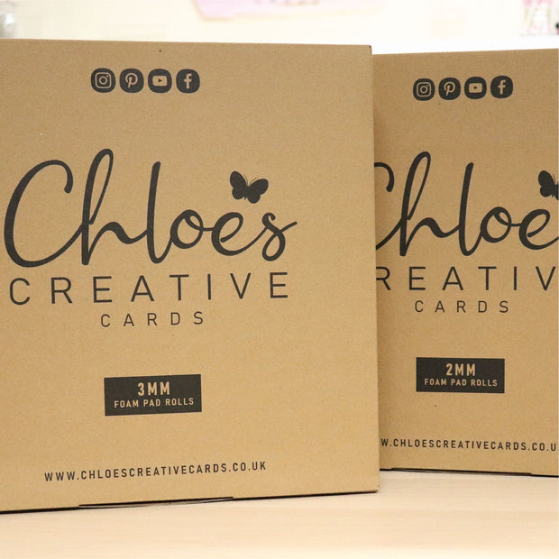Chloes Creative Cards Foam Pads on a Roll - 2mm (1500 pads per roll)