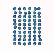 Craft Buddy Self Adhesive A/B Sparkle Bubble Gems Royal Blue