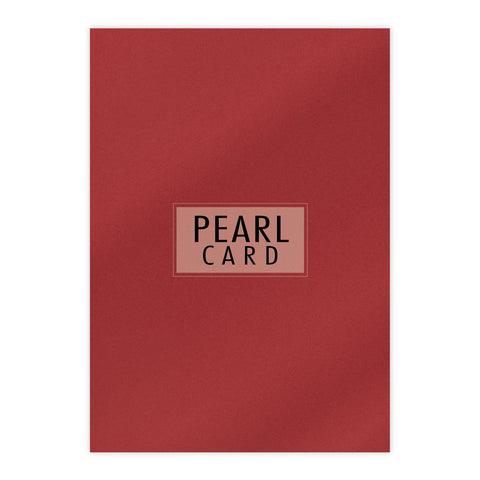 Chloes Luxury Pearl Card 10 Sheets Jupiter