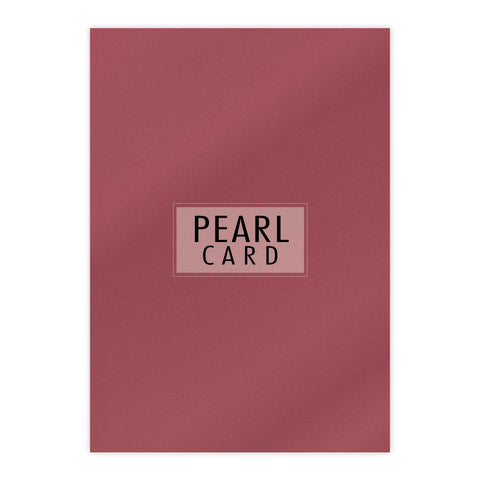 Chloes Luxury Pearl Card 10 Sheets Mars