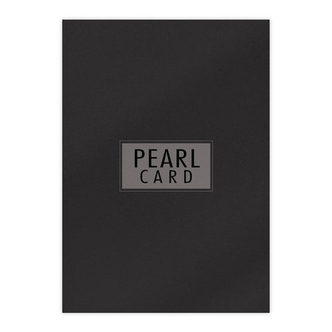 Chloes Luxury Pearl Card 10 Sheets Onyx