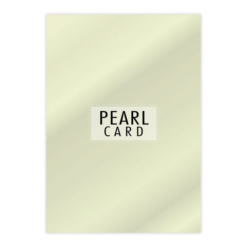 Chloes Luxury Pearl Card 10 Sheets Opal