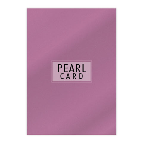 Chloes Luxury Pearl Card 10 Sheets Punch