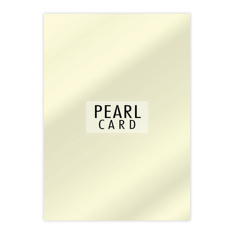 Chloes Luxury Pearl Card 10 Sheets Quartz