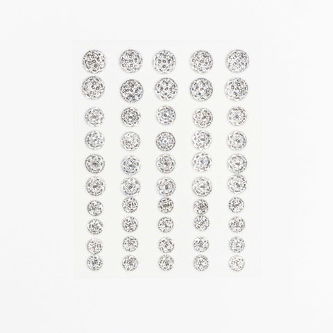 Craft Buddy Self Adhesive Clear Crystal Moon Rock Gems