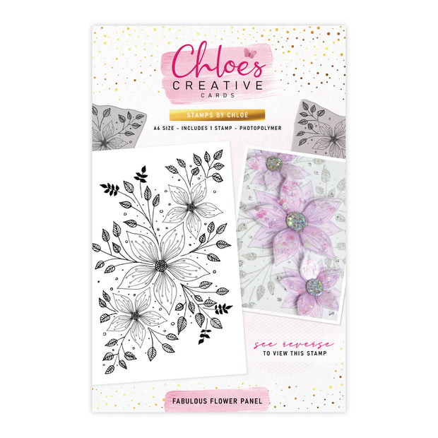 Stamps by Chloe Fabulous Flower Panel Clear Stamp