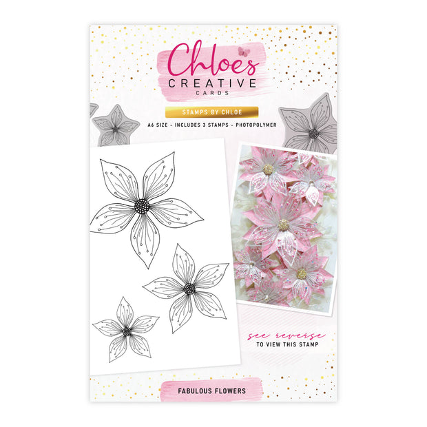 Stamps by Chloe Fabulous Flowers Clear Stamp