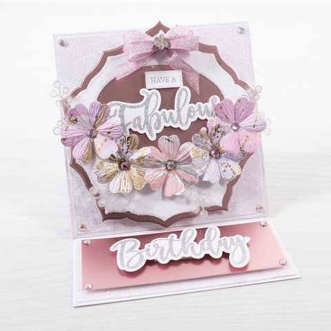 Chloes Creative Cards Luxe Ribbon (8m) Sugared Pink