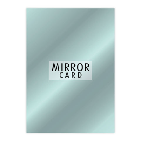 Chloes Creative Cards A4 Mirror Card - Aquamarine