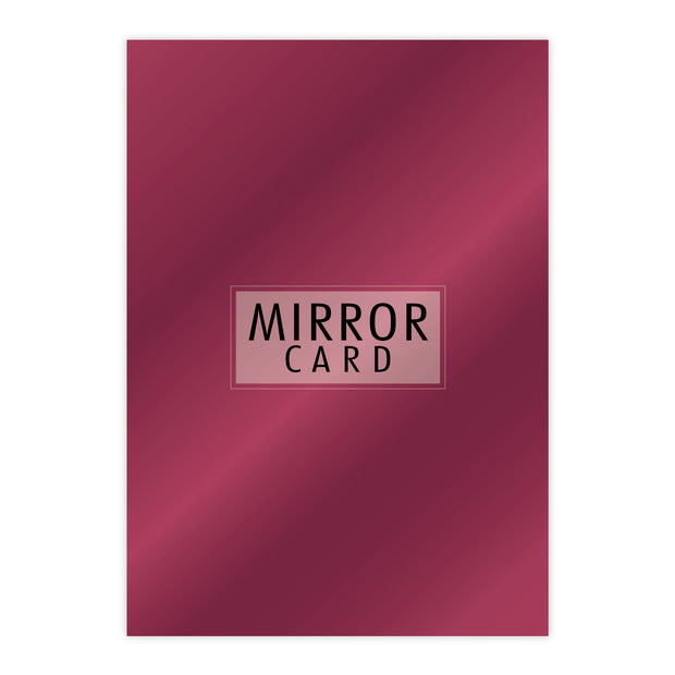 Chloes Creative Cards A4 Mirror Card - Azalea