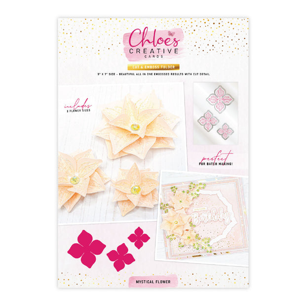 Chloes Creative Cards Sugared Collection Cut & Emboss Flower Folder Bundle