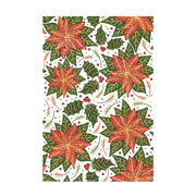 Chloes Creative Cards Layered Poinsettia Background A6 Photopolymer Stamp Set