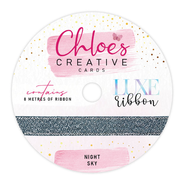 Chloes Creative Cards Poinsettia Luxe Ribbon and Bling Box Bundle