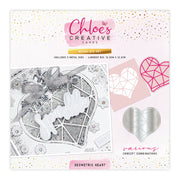 Chloes Creative Cards Metal Die Set - Geometric Heart